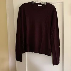 EQUIPMENT Irene sweater velvet plum -S-NWT!